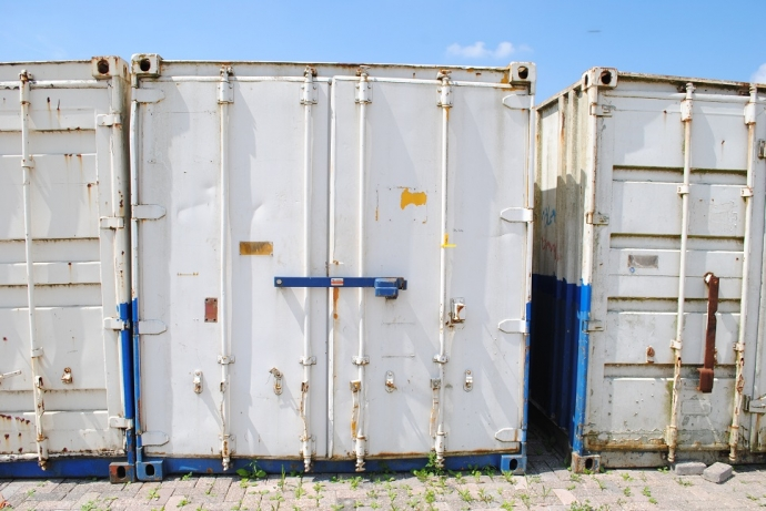 Opslagcontainer 20ft. 6x2,4 m. HS-414